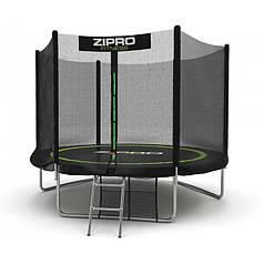 Батут с внешней сетью Zipro Fitness 252 см