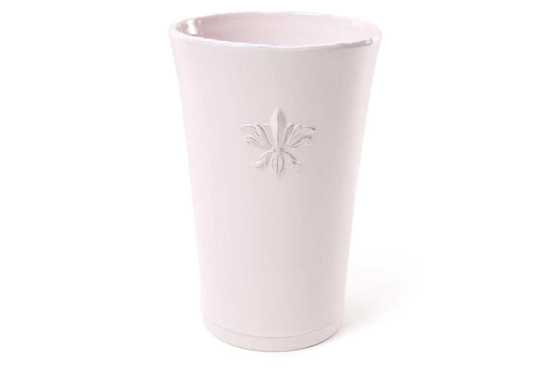 Ваза керамическая 23 см, цвет - светло-розовый BonaDi 902-102