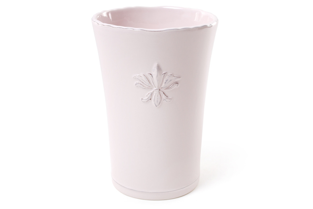 Ваза керамическая 17 см, цвет - светло-розовый BonaDi 902-103