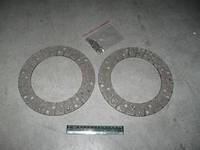 Накладка диска сцепления Газель,Волга двигатель (комплект 2накл,заклепк.) 406,405 (производство ГАЗ)
