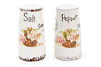 Набор для специй керамический Провансальская Роза: солонка и перечница BonaDi 935-107