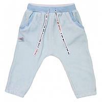 Smil, штанишки велюровые для мальчика с коллекции Вот и Я, голубой