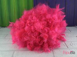 Рожевий перуку клоуна кучерявий зручний на Хеллоуїн, Новий рік