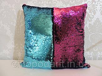 Подушка с пайетками  Код 10-4602