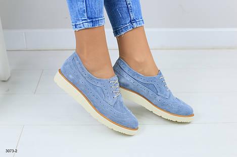 Женские туфли  на шнурках 36