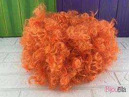 Перука на Хеллоуїн, Новий рік помаранчевий на костюм клоуна