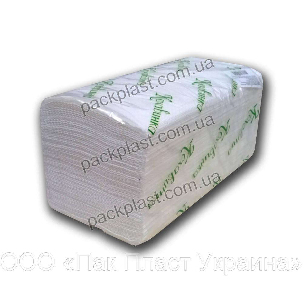 Полотенца листовые Кохавинка 160 листов, белые