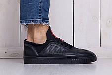 Мужские кроссовки Prada Black топ реплика, фото 2