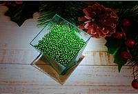 Посыпка кондитерская шарики зеленая 3-2 мм 10 г