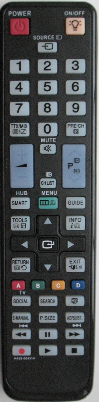 Пульт к телевизору  SAMSUNG. Модель AA59-00431A. SMART/3D
