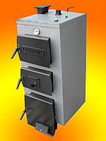 Котел стальной твердотопливный Carbon (Карбон)16-19 + блок управления KG Elektronik и турбина DP02