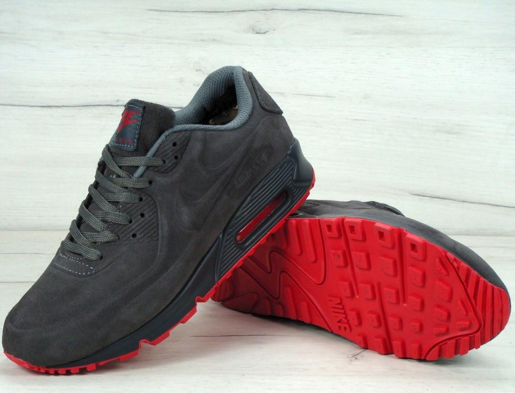 875fc9ee Зимние кроссовки Nike Air Max 90VT winter теплые с мехом. Фото в живую. Топ