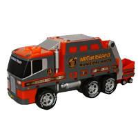 Спецтехника Toy State Мусоровоз красный 36 см (30240-1)