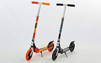 Самокат для взрослых DG-109-B (алюминий, колесо-PU, d-200мм, р-р платформы 53х11см, АВЕС-7)