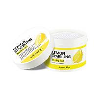 Пилинг диски с экстрактом лимона и салициловой кислотой Secret Key Lemon Sparkling Peeling Pad