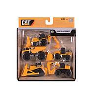 Спецтехника Toy State CAT Мини-техника 5 шт в наборе (34601)