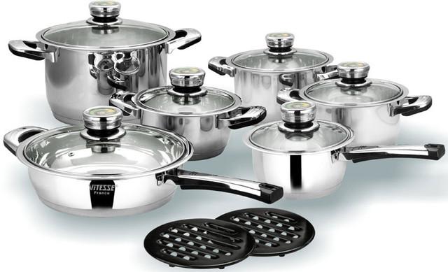 Сковородки, кастрюли, наборы посуды