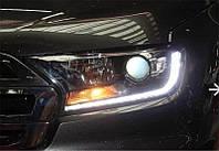 Передние фары Led тюнинг оптика Ford Ranger T7 ксенон