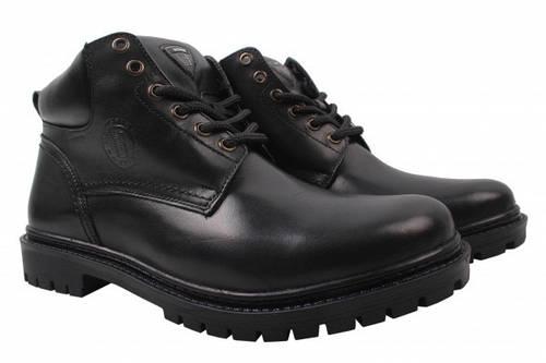 Ботинки Bastion натуральная кожа, цвет черный