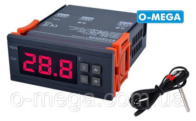 Терморегулятор цифровой высокоточный MH1210W с порогом включения в 1 градус