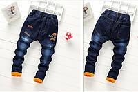 Утепленные джинсы зима для мальчика
