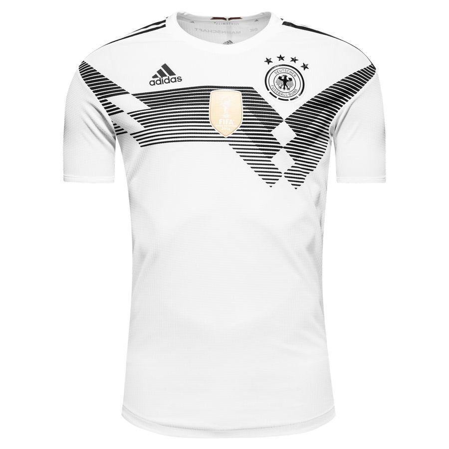 Форма футбольная сборная Германия белая
