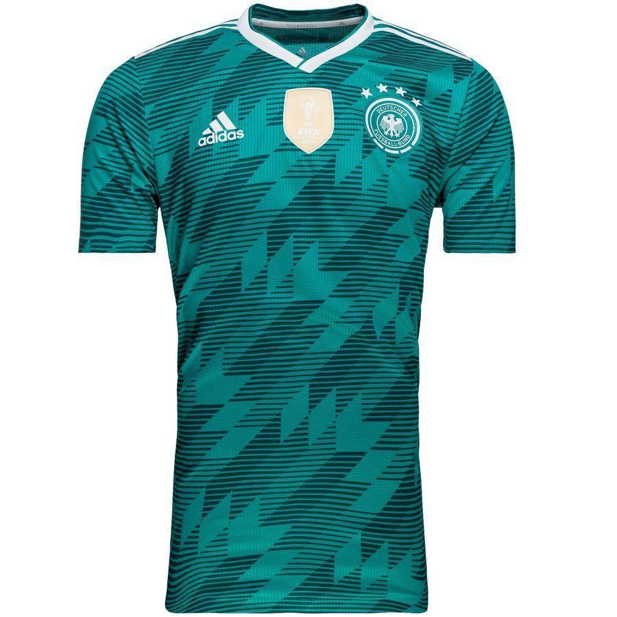 Форма футбольная сборная Германия зеленая выездная