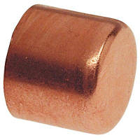 Заглушка медная для медной трубы 3/8'' (9,53 мм)