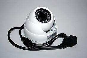 Камера внутреннего наблюдения с возможностью подключения микрофона купольная IP (MHK-N361LA-200W)