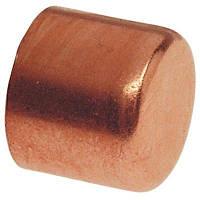 Заглушка медная для медной трубы 1.1/8'' (28,58 мм)