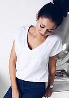 Свободная футболка белого цвета 013/01, фото 1