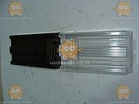 Стекло фонаря ВАЗ 21011 ТЮНИНГ (черно-белый цвет, РЕФЛЕННЫЕ по центру фото!) цена за 2шт (пр-во Россия)