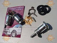 Замки Москвич 2141 дверей и багажника с ключами (личинки) как на фото (пр-во Россия)