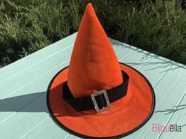 Ковпак на вечірку капелюх дитяча для образу відьми, чарівника на Хеллоуїн