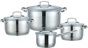 Набор посуды ( набор кастрюль ) 8 предметов Bohmann 1908 ВН