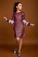 Платье с кулоном девочек-подростков, размеры 140, 146, 152, 158, 164 см., фото 1