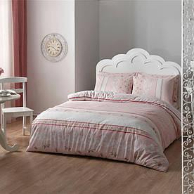 Постельное белье Tac Ranforce Rose pembe розовый евро размера