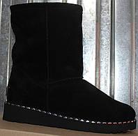 Угги замшевые женские молодежные зимние от производителя модель ЯР11071-1, фото 1