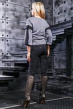Женские трикотажные леггинсы с принтом (2366 svt), фото 2