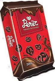Брецели покрытые шоколадом 200г. Венгрия