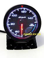 Тюнинговый автомобильный прибор DEFI 60253 v1 температура масла 60мм
