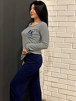 Пижама женская кофта и штаны для дома и сна, фото 1