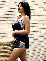 Пижама с белым кружевом, фото 1