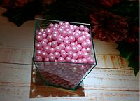 Посыпка сахарная кондитерская Жемчуг розовый 6 мм 10 г