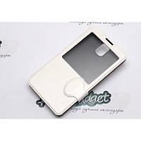 Чехол-книжка с окном для Samsung Note 3 N900 - i-case Tec white