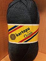 Акриловая пряжа (100% акрил, 100г/230м) Kartopu Flora K650 (джинс)