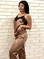 Комплект для дома пижама майка и штаны, фото 1