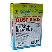 Мешки для пыли пылесосов Bosch Siemens комплект 5шт + 1 фильтр