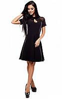 S, M / Женское классическое платье Arkinston, черный Офисное платье, S, 42-44, фото 1