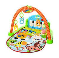 Коврик для младенца «пианино»